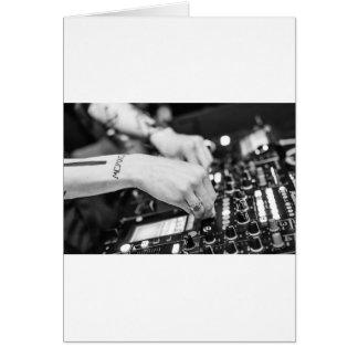 Dj Deejay Music Night Nightclub Club Night Club Card