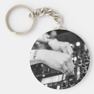 Dj Deejay Music Night Nightclub Club Night Club Keychain