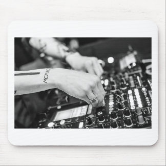 Dj Deejay Music Night Nightclub Club Night Club Mouse Pad