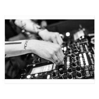 Dj Deejay Music Night Nightclub Club Night Club Postcard