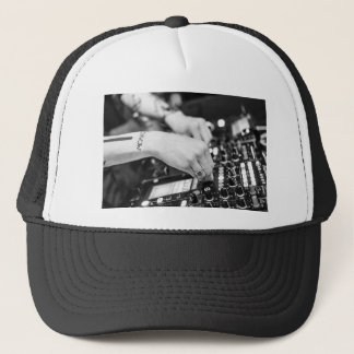 Dj Deejay Music Night Nightclub Club Night Club Trucker Hat