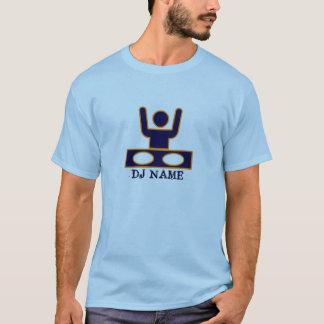 DJ Disc jockey deejay customizable editable name T-Shirt
