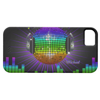DJ Disco Music iPhone 5 Case