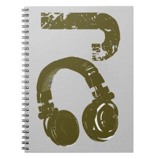 DJ - DJ's Spiral Notebook