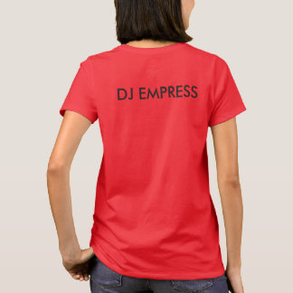 DJ Empress Riddim Roots Radio Women's T-Shirt