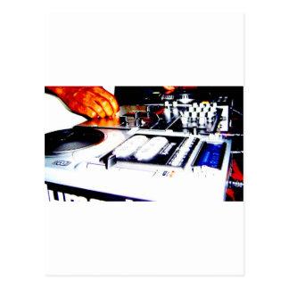 DJ Equipment (CDs) Postcard