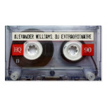 DJ Extraordinaire Cassette Tape Double-Sided Standard Business Cards (Pack Of 100)