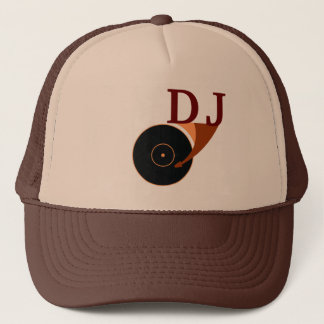 DJ hat cap party style cover sign