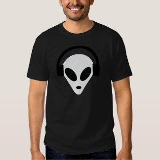 dj headphone alien area 51 t shirts
