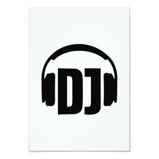 DJ headphones Personalized Invite
