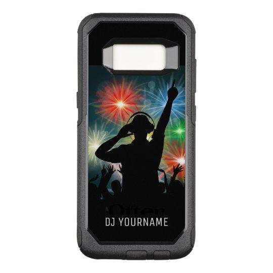 DJ Illustration custom name phone cases