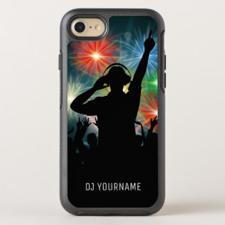 DJ Illustration custom name phone cases