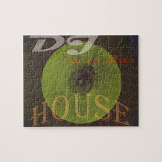 Dj is in the house musical cover jigsaw puzzle