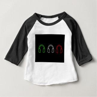 Dj Italian Flag Baby T-Shirt