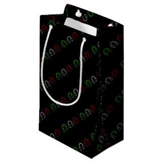 Dj Italian Flag Small Gift Bag