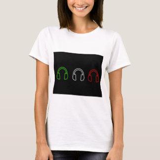 Dj Italian Flag T-Shirt