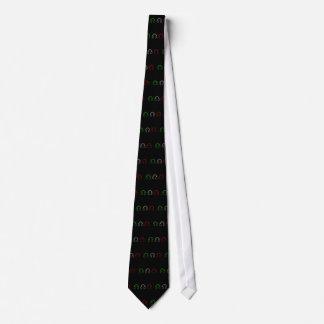 Dj Italian Flag Tie