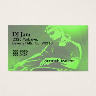 DJ Jam Set Business Card