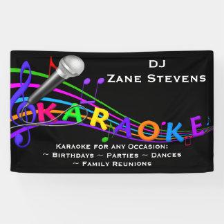 DJ Karaoke Banner