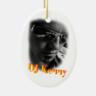 Dj Kenny Ceramic Oval Ornament