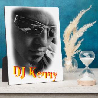 Dj Kenny Photo Plaque