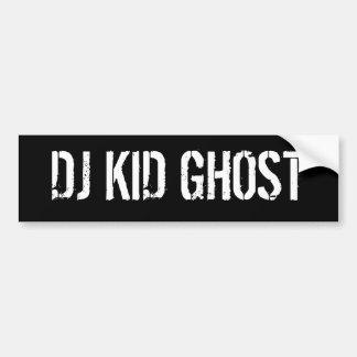 DJ KID GHOST BUMPER STICKER
