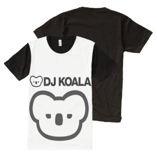dj koala overprint vxx1 All-Over-Print T-Shirt
