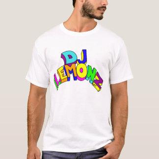 DJ LEMONZ BIG LETTERS in colors T-Shirt