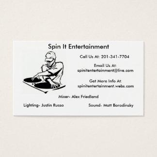 dj logo busniss card format, dj logo busniss ca...