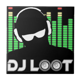 DJ Loot Ceramic Tile