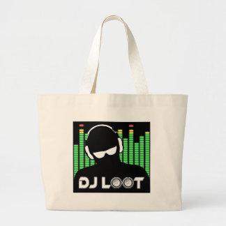 DJ Loot Large Tote Bag