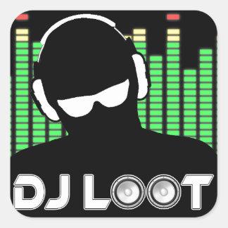 DJ Loot Stickers