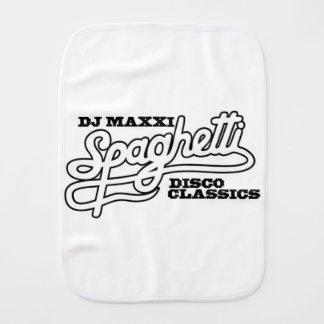 DJ MAXXI SPAGHETTI DISCO CLASSICS BABY BURP CLOTH