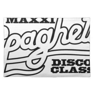 DJ MAXXI SPAGHETTI DISCO CLASSICS PLACEMAT