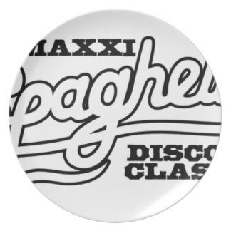 DJ MAXXI SPAGHETTI DISCO CLASSICS PLATE