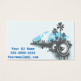 DJ Miami Sound Business Card
