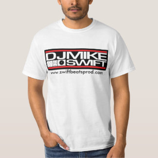 DJ Mike Swift Horizontal Logo Value T-shirt