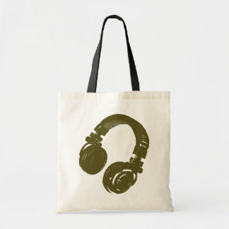 DJ music design Tote Bag