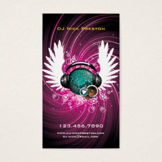 DJ Music Heaven Business Card