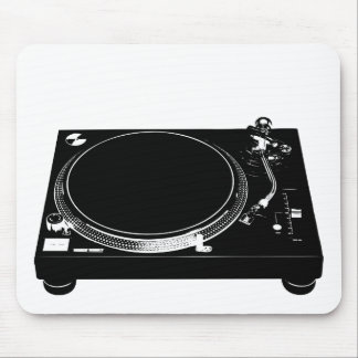 DJ Music Producer Turntable Deck Mouse Pad