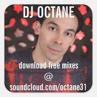 DJ Octane Square Sticker