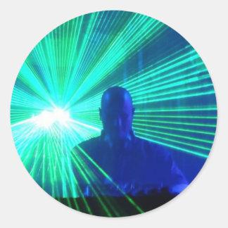 DJ On The Decks sticker