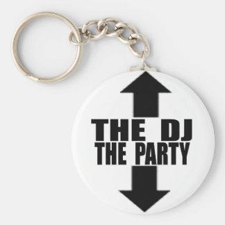 DJ-PARTY KEYCHAIN