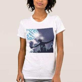 DJ Performing Womens T-Shirt