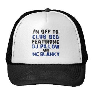 DJ Pillow and Mc Blanky Trucker Hats