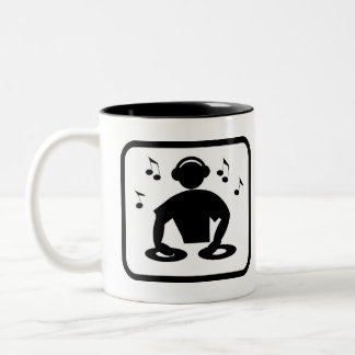 DJ Pro Two-Tone Coffee Mug