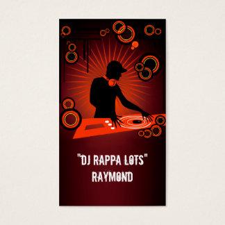 DJ Rappa Lots Raymond Business Card