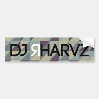 DJ RHARVZ BUMPER STICKER