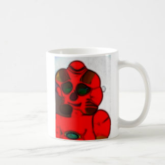 DJ.SK Deformed Robot w/o Classic White Coffee Mug