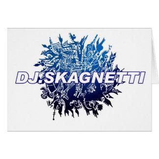 DJ.Skagnetti Blueworld Greeting Card